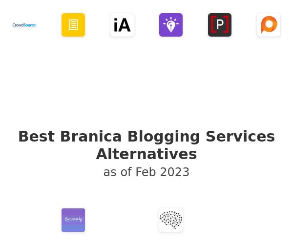 Best Branica Blogging Services Alternatives