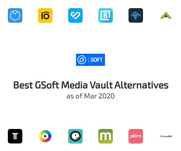 Best GSoft Media Vault Alternatives