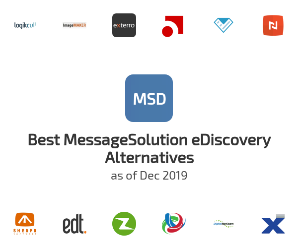 Best MessageSolution eDiscovery Alternatives