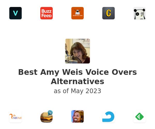 Best Amy Weis Voice Overs Alternatives