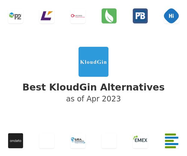 Best KloudGin Alternatives