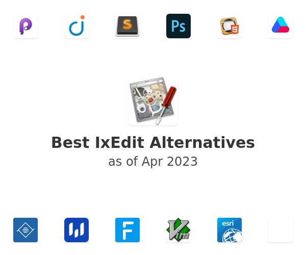 Best IxEdit Alternatives