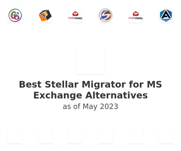 Best Stellar Migrator for MS Exchange Alternatives