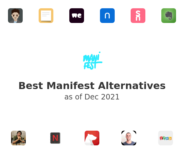 Best Manifest Alternatives