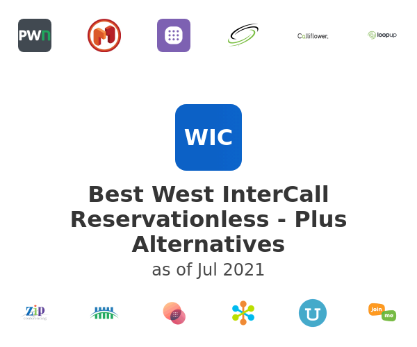 Best West InterCall Reservationless - Plus Alternatives