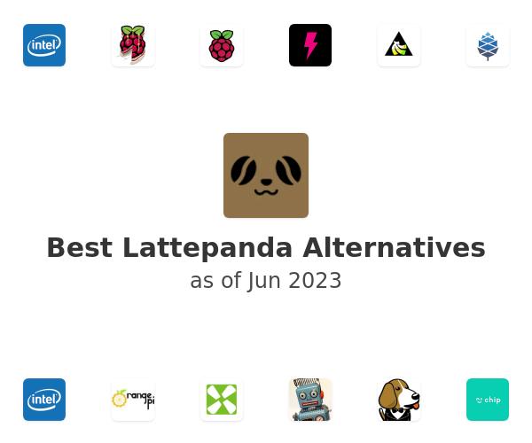 Best Lattepanda Alternatives