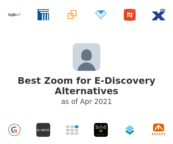 Best Zoom for E-Discovery Alternatives