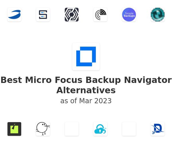 Best Micro Focus Backup Navigator Alternatives
