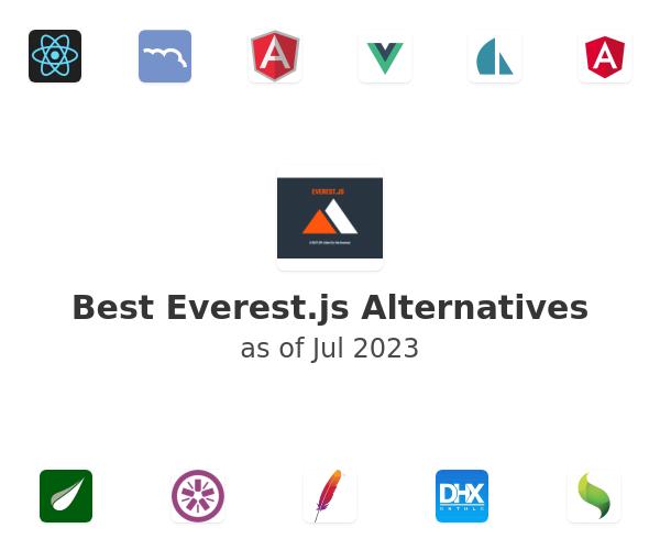 Best Everest.js Alternatives