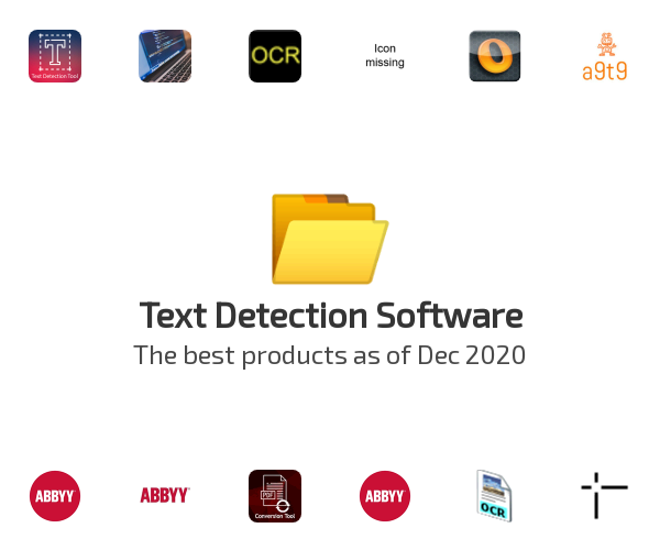 Text Detection Software