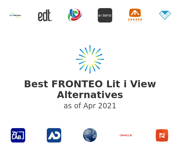 Best FRONTEO Lit i View Alternatives