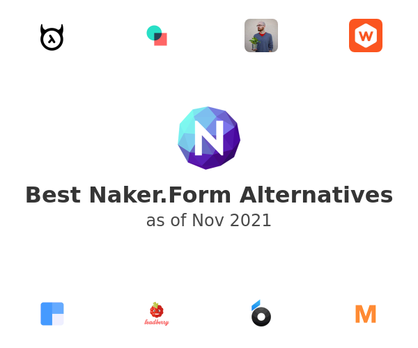 Best Naker.Form Alternatives