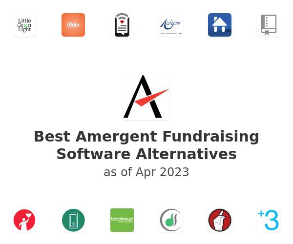 Best Amergent Fundraising Software Alternatives
