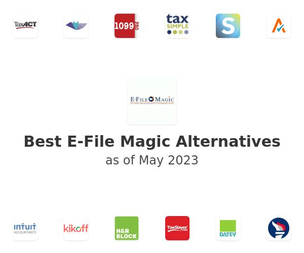 Best E-File Magic Alternatives