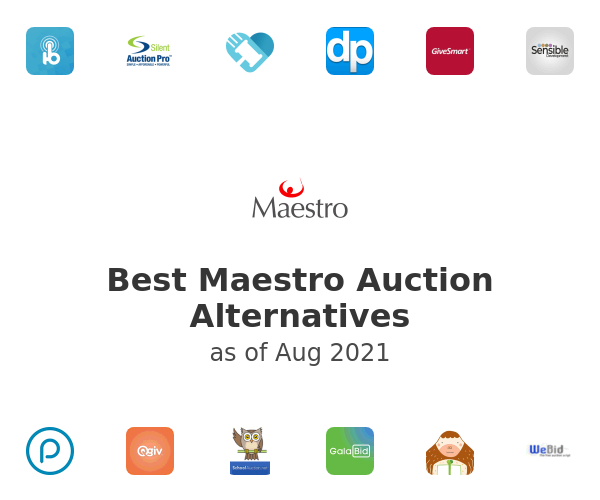 Best Maestro Auction Alternatives