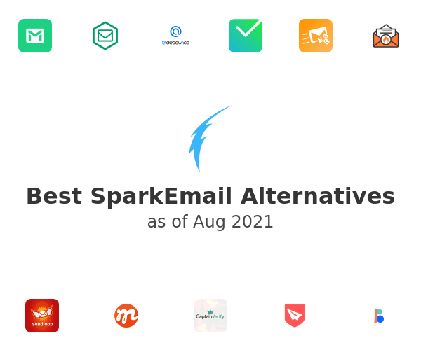 Best SparkEmail Alternatives