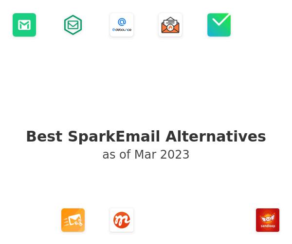 Best SparkEmail Alternatives