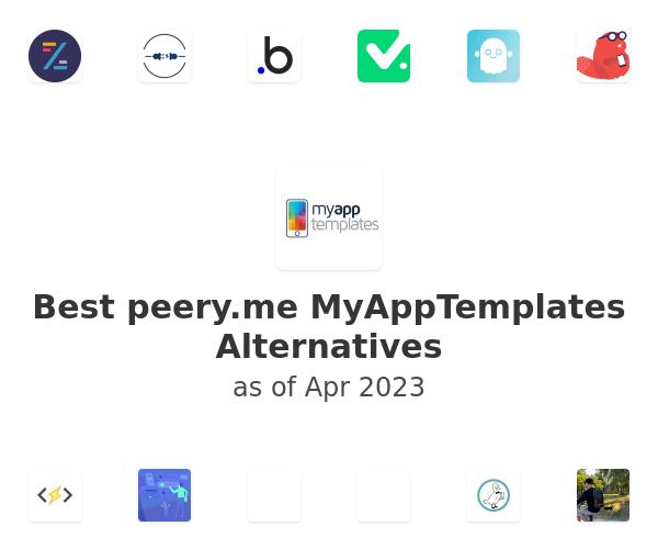 Best MyAppTemplates Alternatives