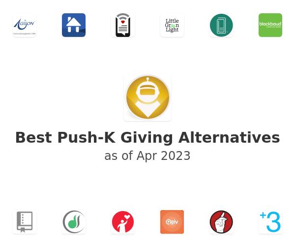 Best Push-K Giving Alternatives