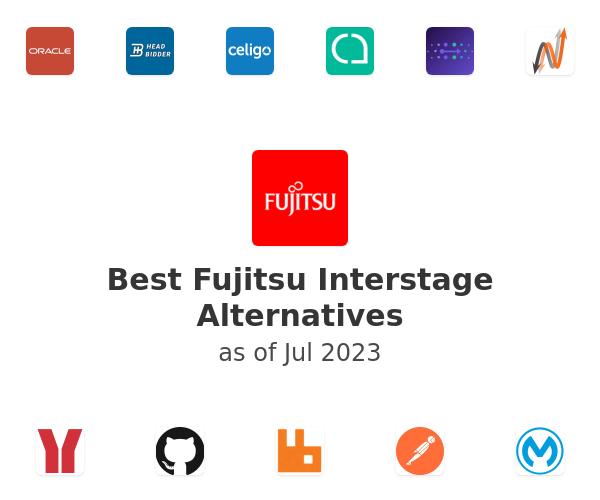 Best Fujitsu Interstage Alternatives