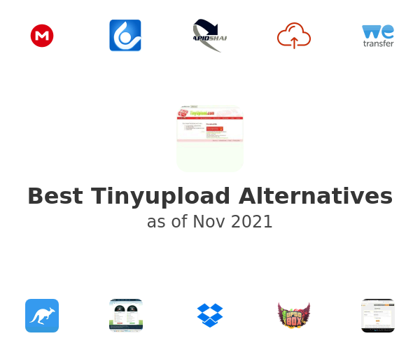 Best Tinyupload Alternatives