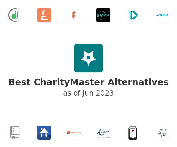 Best CharityMaster Alternatives