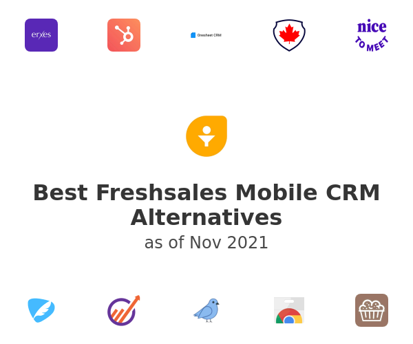 Best Freshsales Mobile CRM Alternatives