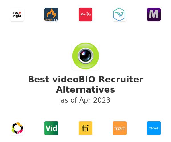 Best videoBIO Recruiter Alternatives