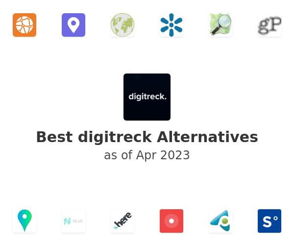 Best digitreck Alternatives