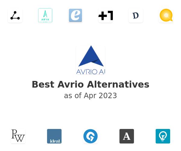 Best Avrio Alternatives
