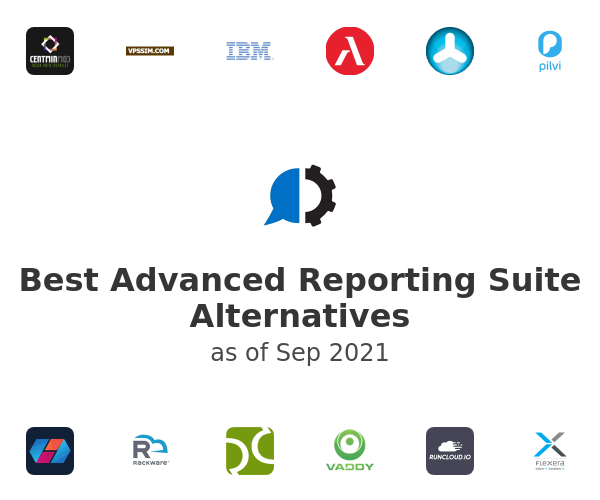 Best Advanced Reporting Suite Alternatives