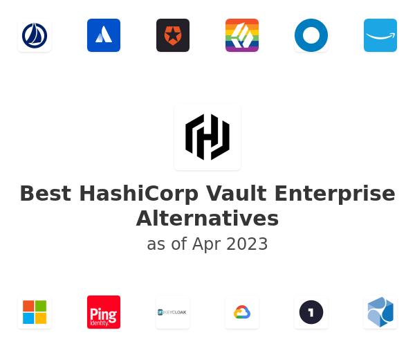 Best HashiCorp Vault Enterprise Alternatives