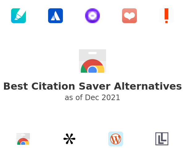 Best Citation Saver Alternatives