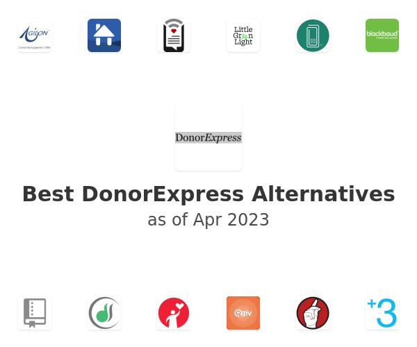 Best DonorExpress Alternatives