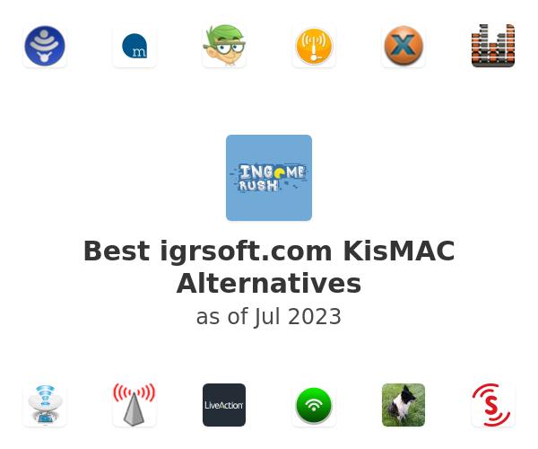 Best KisMAC Alternatives