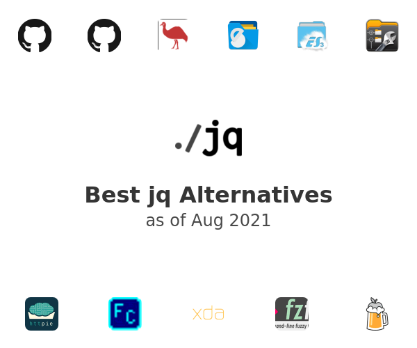 Best jq Alternatives