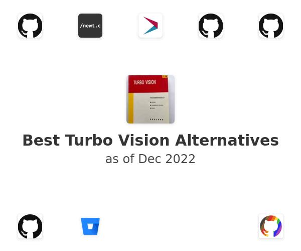Best Turbo Vision Alternatives