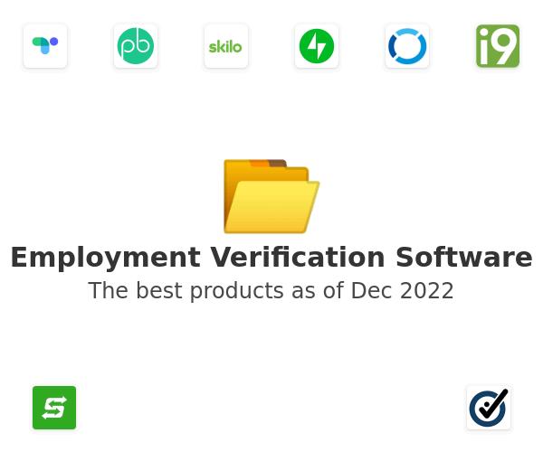 Employment Verification Software