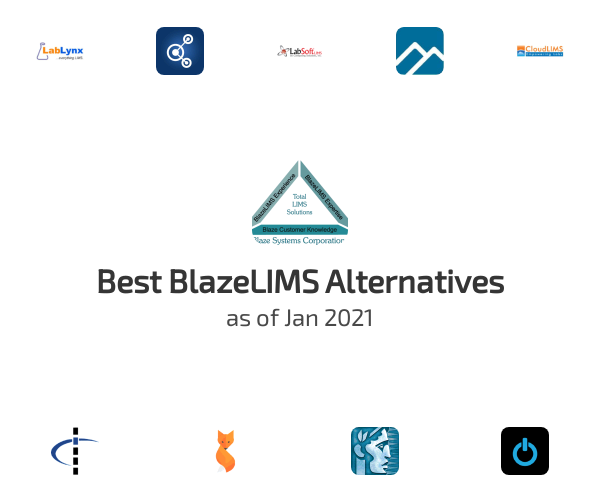 Best BlazeLIMS Alternatives
