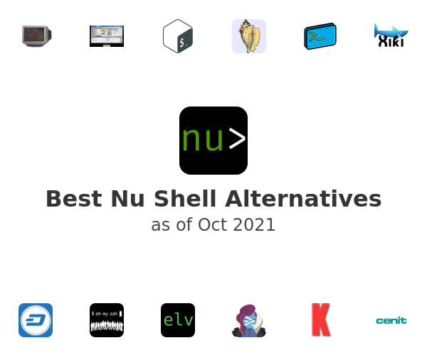 Best Nu Shell Alternatives