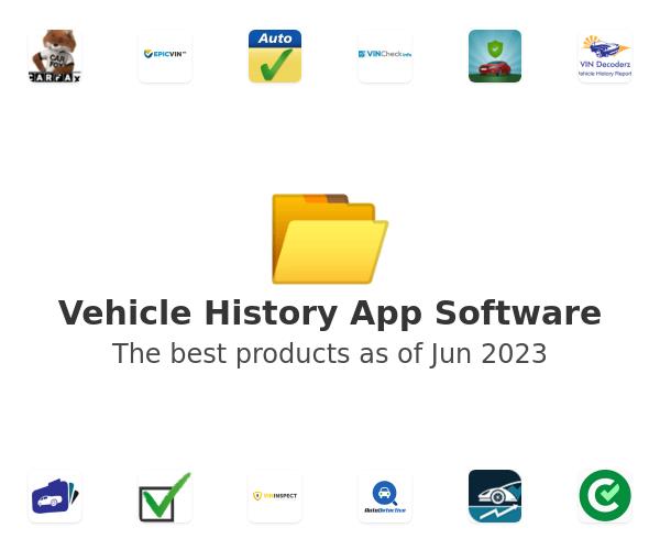 Vehicle History App Software