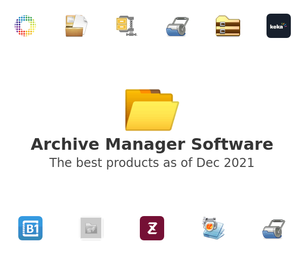 Archive Manager Software