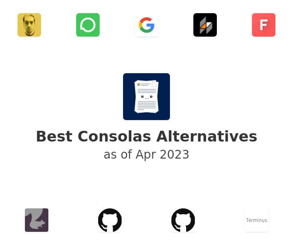 Best Consolas Alternatives