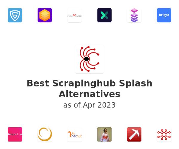 Best Scrapinghub Splash Alternatives