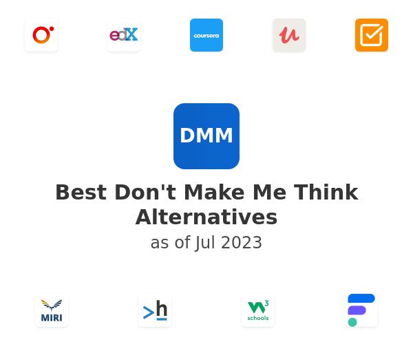 Best Don't Make Me Think Alternatives