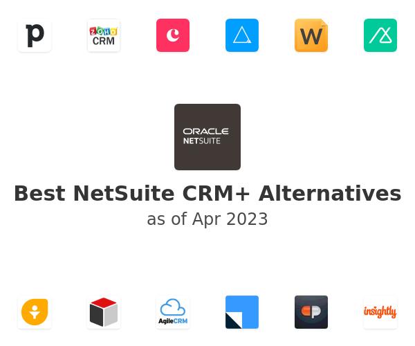 Best NetSuite CRM+ Alternatives