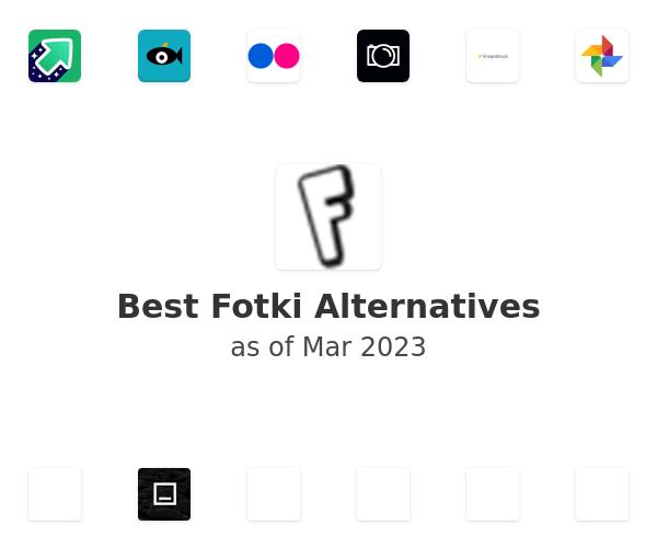 Best Fotki Alternatives