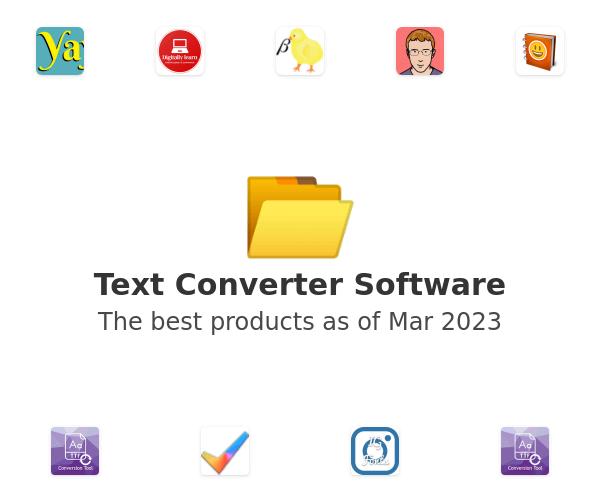 Text Converter Software