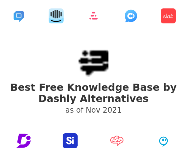Best Free Knowledge Base by Dashly Alternatives