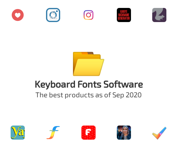 Keyboard Fonts Software